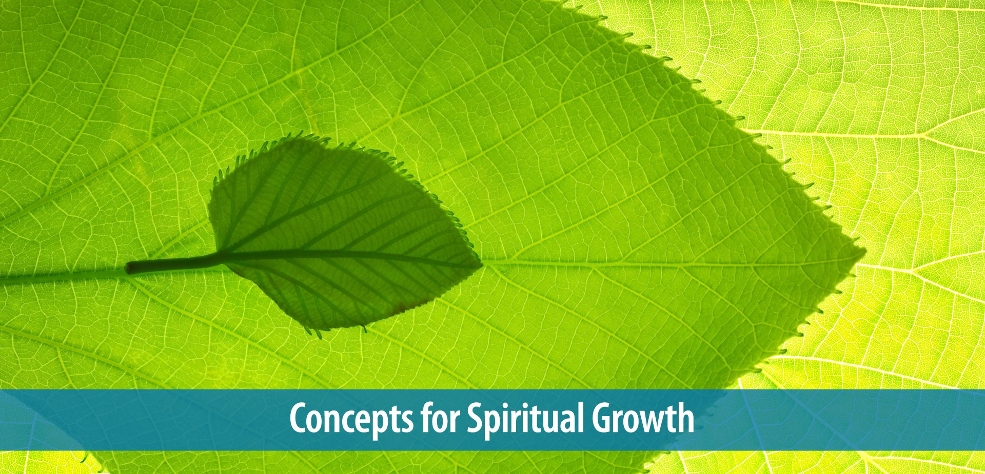 Concepts for Spiritual Growth